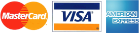 Visa, MasterCard, and American Express